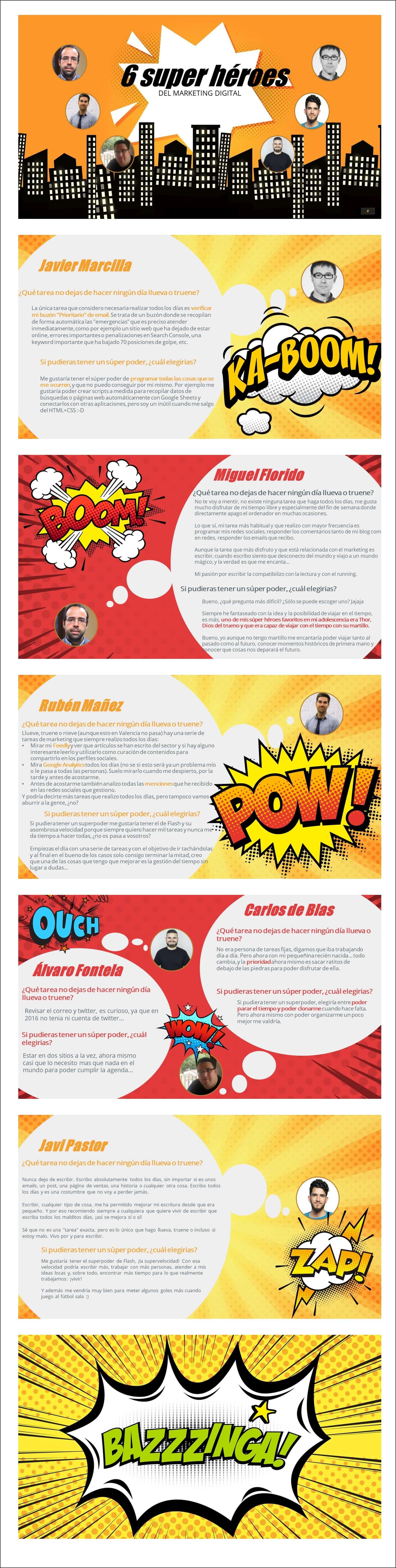 Super Héroes del Marketing