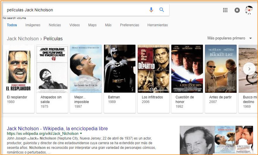 peliculas en google