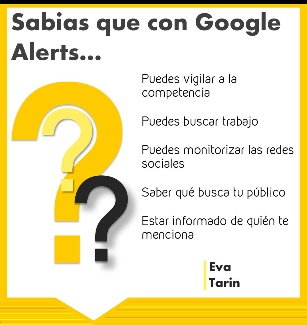 usando google alerts