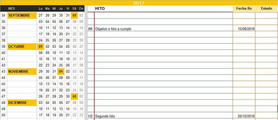 plantilla planificacion