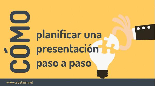 Planificación de una presentación paso a paso