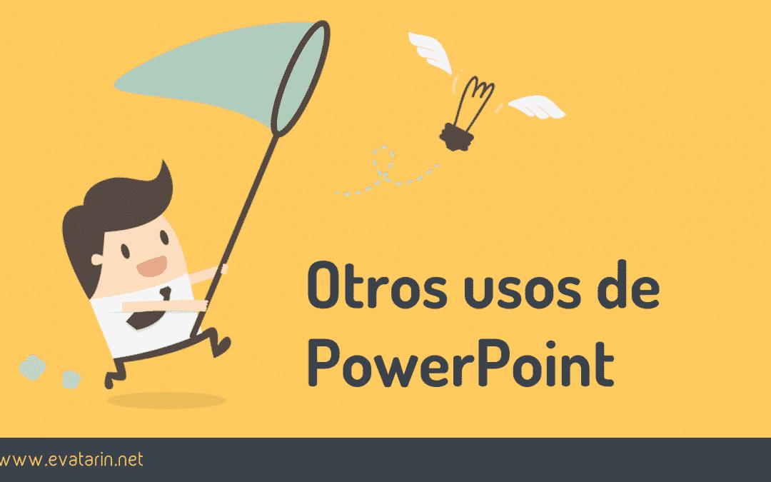 Otros usos de PowerPoint: imágenes, gifs animados e infografías