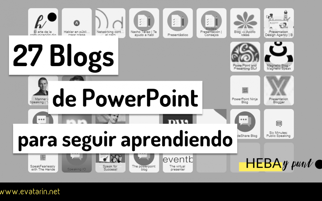 27 Blogs para aprender PowerPoint