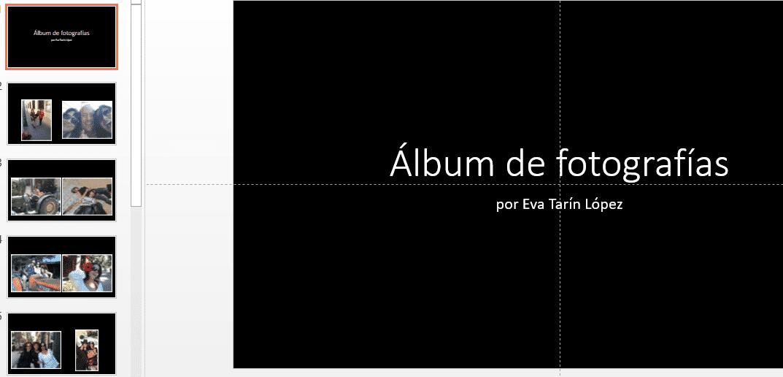 powerpoint y los albumes
