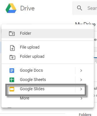 crear una presentacion de google