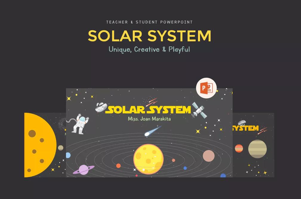 Plantillas para aprender el sistema solar