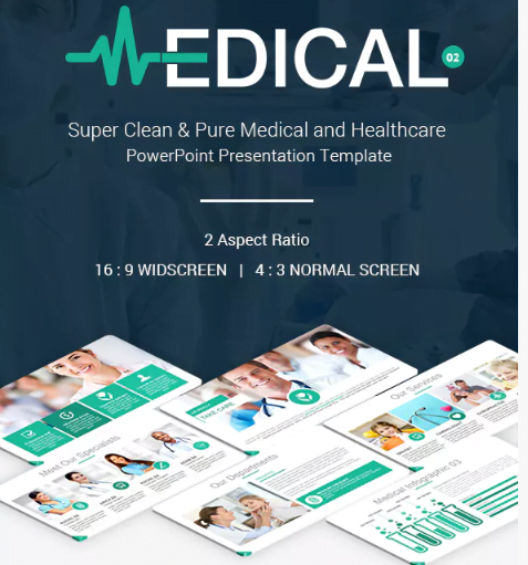 Plantilla PowerPoint Medical and Healthcare