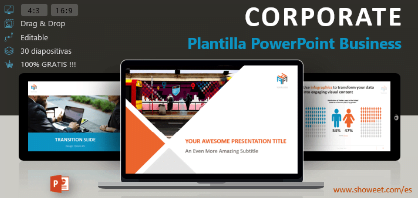 powerpoint template profesional