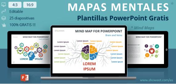 Plantilla ppt para hacer mapas mentales