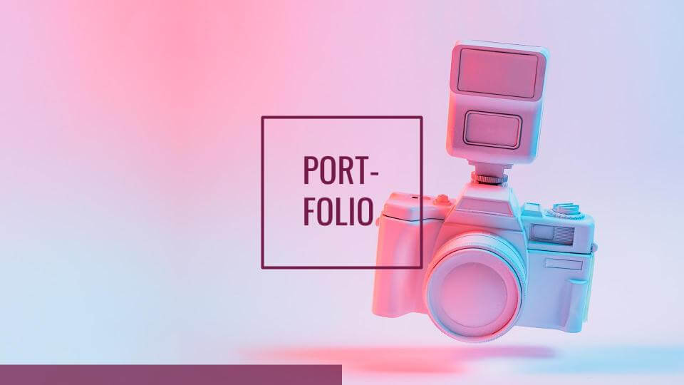 Designer Portfolio by SlidesGo