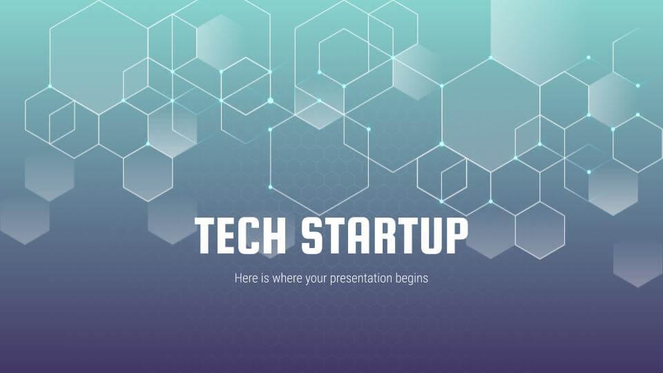 Tech Startup by Slidesgo
