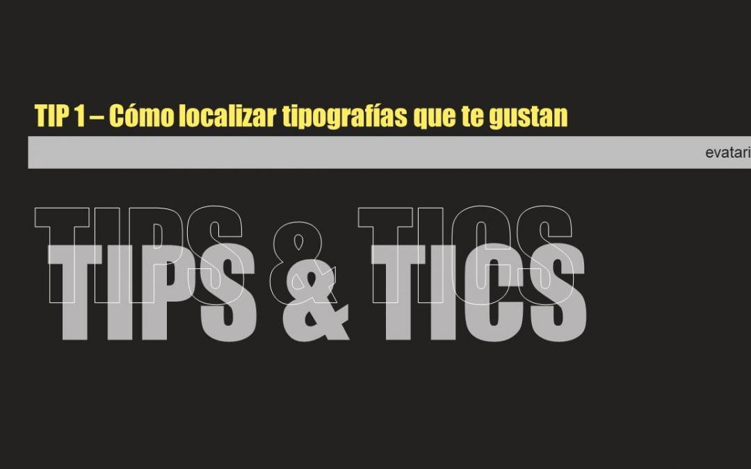 Herramientas para identificar tipografías