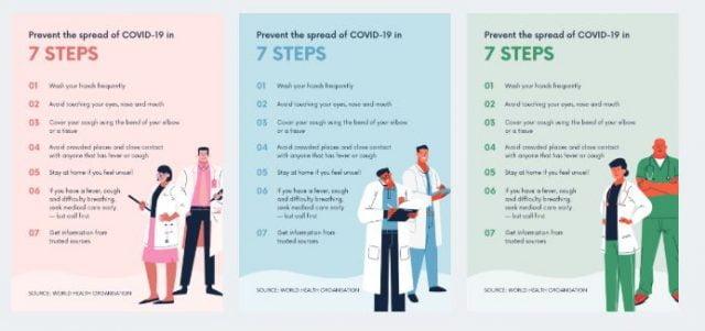 posters coronavirus