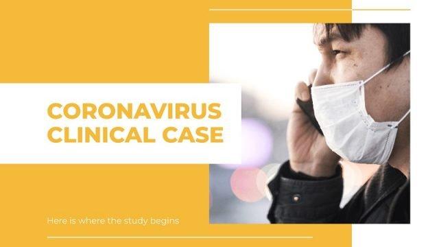 coronavirus template