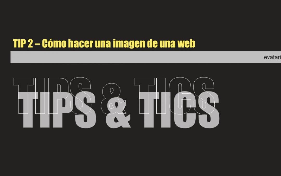 Cómo capturar una imagen de una web