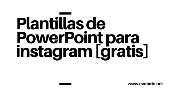 Plantillas powerpoint instagram