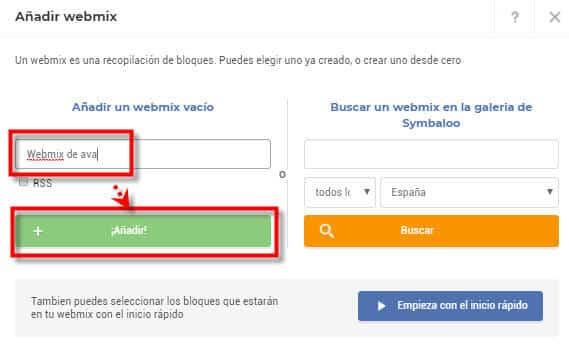 webmix creado